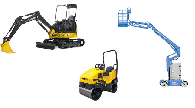 Equipment rentals and tool rentals in Armstrong, BC