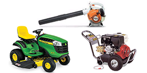 Home and garden equipment rentals in Okanagan and Shuswap areas of British Columbia