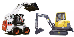 Earthmoving equipment rentals in Okanagan and Shuswap areas of British Columbia