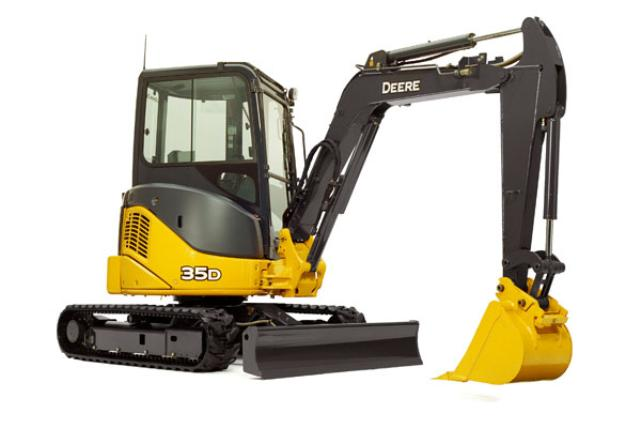 Where to find EXCAVATOR,  9.4  DEPTH  35G in Vernon
