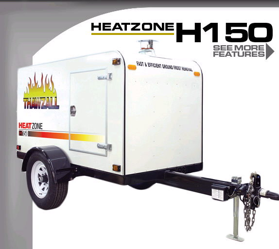 Where to find HEATER, 150,000 BTU THAWZALL in Vernon
