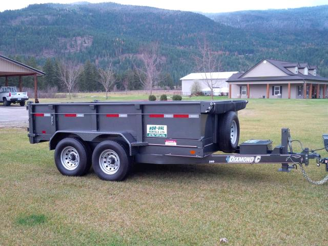 Where to find TRAILER, 14,000 LBS DUMP in Vernon
