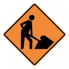 Where to find SIGN, MEN AT WORK in Vernon